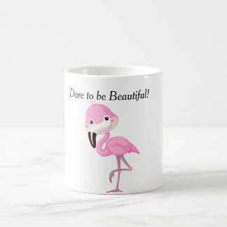 Mug daring you to be beautiful - Flamingo Style