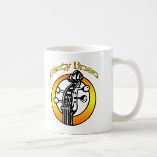 Mug Dirty Linen logo orange & yellow