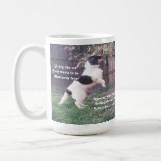 Mug Dog Horse Poem By Ladee Basset