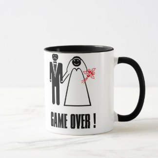 Mug Dom Foto Game Over