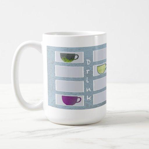 Mug Drink with Me blue