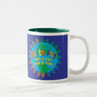"""MUG ~ Earth Day """"Plant a tree, shrub or plant!"""""""