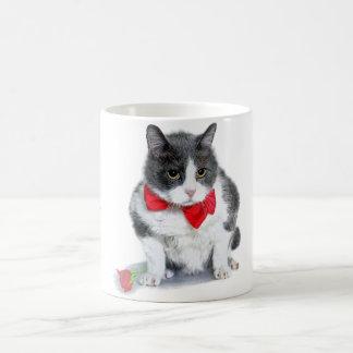 Mug:  Felix, the cat, in February Coffee Mug