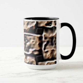 Mug. Fire Brick effect. Mug