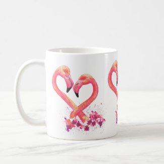 Mug - Flamingo Design