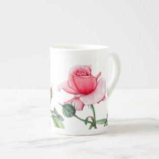Mug - Floral Rose Design
