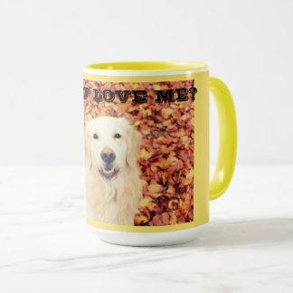 Mug for dog lovers with Golden Retriever