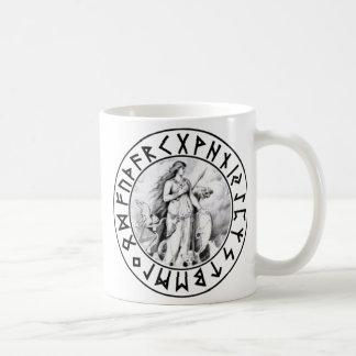 mug Freya Rune Shield