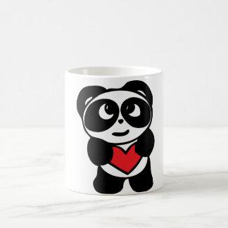 Mug gotten passionate Panda
