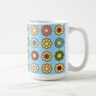 "Mug great model design ""Floor of flowers """