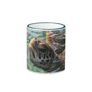 Mug: Green Sea Turtle (Ringer)