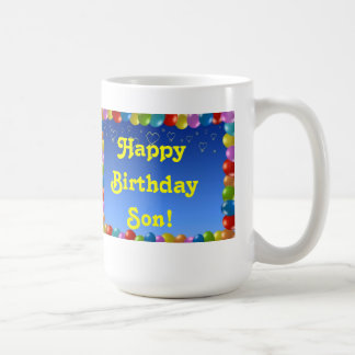 Mug Happy Birthday Son