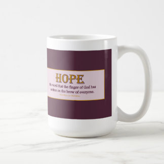 Mug: Hope Coffee Mug