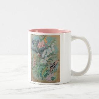 Mug - Hummingbird and Moth by NCBR