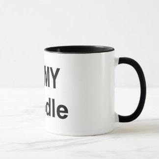 Mug - I love my poodle