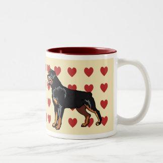 Mug - I Love Rottweilers