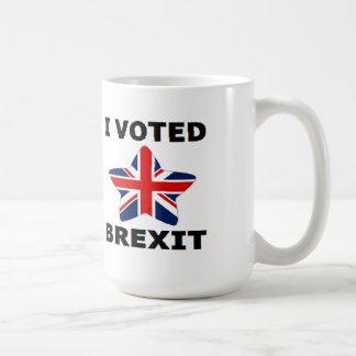 Mug I Voted Brexit