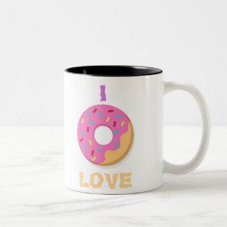 mug ilove doughnuts