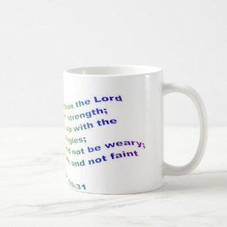 Mug: Isaiah 40:31