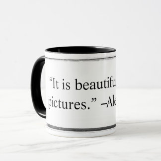 Mug It is beautiful to take pictures Majoli