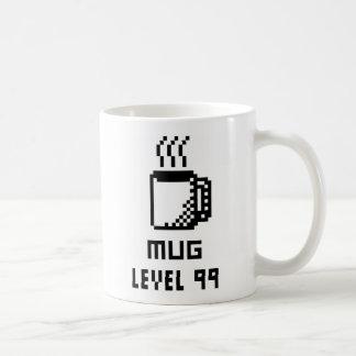 Mug Level 99 8-bit Pixel Art Mug