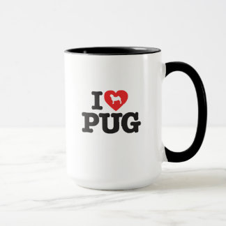 Mug Love Pug