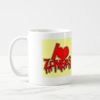Mug Love Zombies