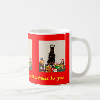 Mug Merry Dober-Christmas to you