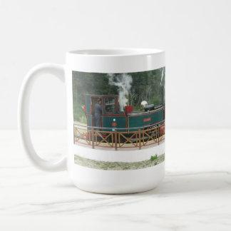 Mug: Miniature Locomotive Basic White Mug