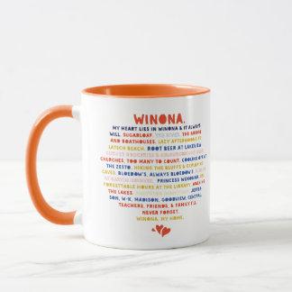 Mug My Heart Lies in Winona