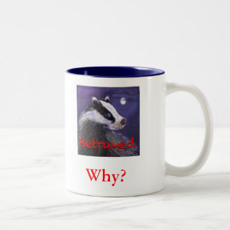 Mug - Never Forget the Badger Cull