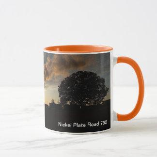 Mug - Nickel Plate Road at sunset