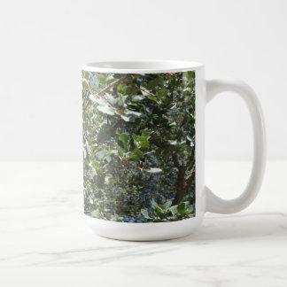Mug: Oak Leaves and Acorns Tableware Basic White Mug