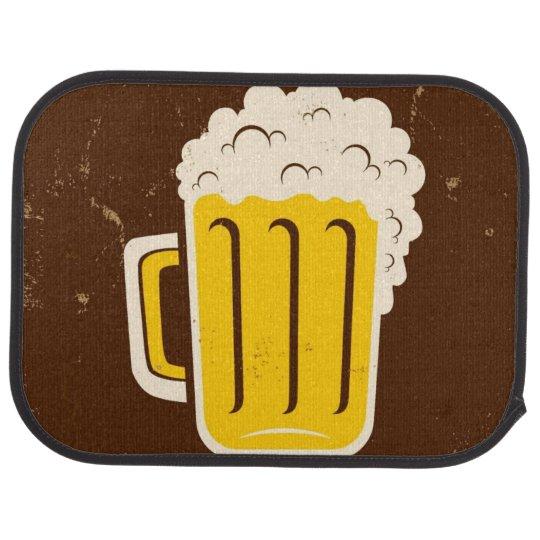 Mug Of Beer Car Mat