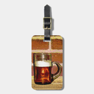 Mug of Beer Luggage Tag