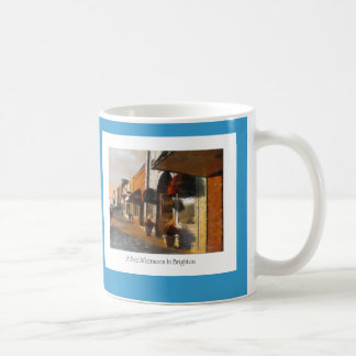 Mug of Brighton Michigan Scene