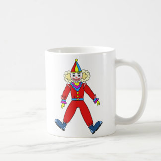 Mug of ceramic drawing of Clown