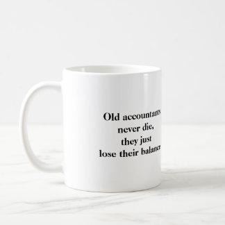 Mug - Old accountants never die