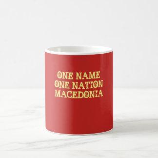 Mug: One name, one nation - Macedonia Coffee Mug