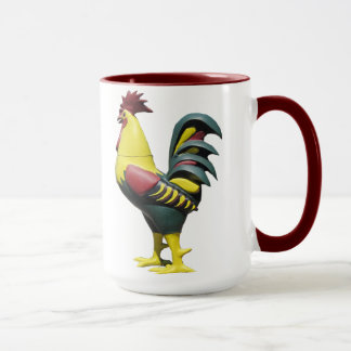 Mug or Cup Rooster Design
