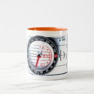 Mug - Orienteering compass