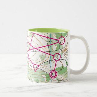 Mug - orienteering course