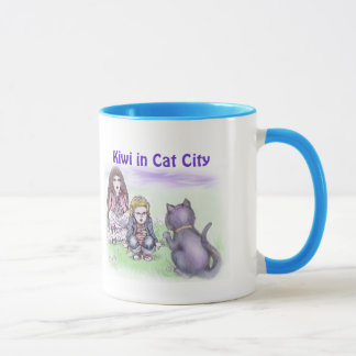 Mug - our cat can talk! - Kiwi in Cat City