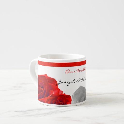 Mug Our Wedding Espresso Cups