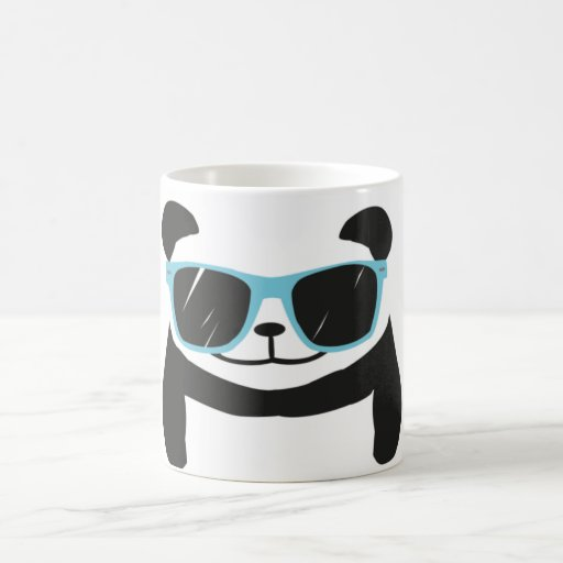 Mug Panda With Glasses