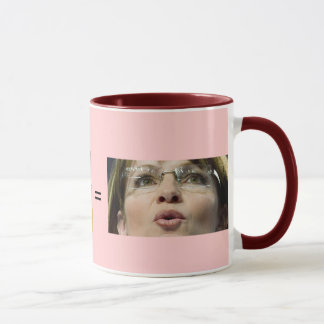 Mug / Pig + Lip Stick = Sara Palin