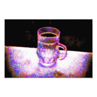 Mug Pointilism Photo Print