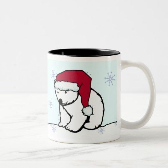 Mug - Polar Bear Santa