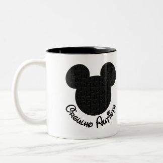 Mug Pride Autista Mickey Puzzle II