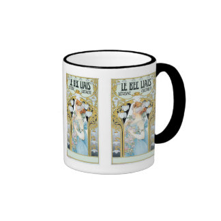 Mug: Privat-Livemont - Art Nouveau - Le bec Liais Ringer Mug